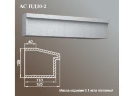 Подоконник АС ПД10-2