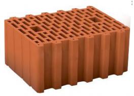 Керамический камень porotherm 38, поризованный Wienerberger