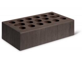 Кирпич одинарный шоколад  бархат лицевой М 150 КЕРМА