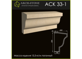Карниз АС К33-1