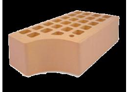 Кирпич полуторный облицовочный солома гладкий фасонный кф-1 М 200 ЖКЗ
