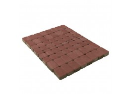 Тротуарная плитка Классико, Винный, h=60 мм