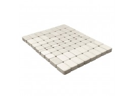 Тротуарная плитка Классико, Белый, h=60 мм