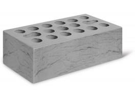 Кирпич полуторный серебро лицевой рустик М 150 КЕРМА