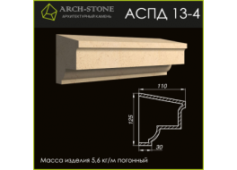Подоконник АС ПД13-4