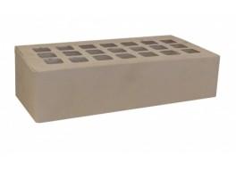 Кирпич облицовочный одинарный пустотелый серый гладкий М 200 ЖКЗ