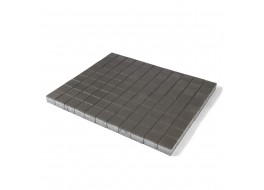 Тротуарная плитка Лувр, Серый, h=60 мм
