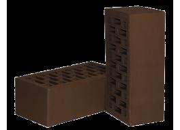 Кирпич полуторный облицовочный коричневый М 150 НЗКМ