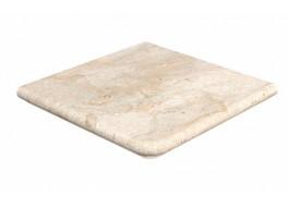 Угловая ступень-флорентинер Gres Aragon Rocks Beige, 330x330x14(36) мм