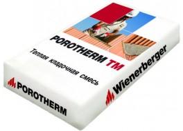 Кладочный раствор Porotherm TM