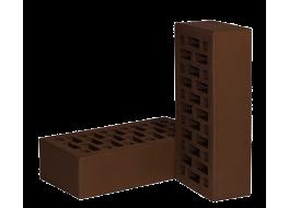 Кирпич одинарный облицовочный М 150 коричневый НЗКМ