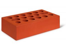 Кирпич одинарный красный гладкий лицевой М 150 КЕРМА