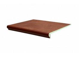 Клинкерная ступень флорентинер Interbau Nature Art Cognac braun, 360x320x9,5 мм
