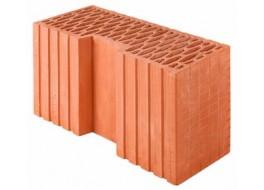 Керамический угловой блок rth44r поризованный Wienerberger