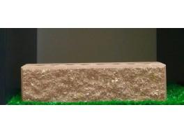 Кирпич колотый пустотелый М 250красный с фаской ЛИТОС