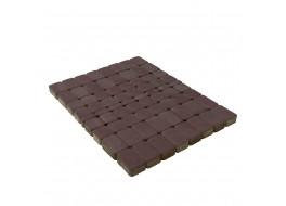 Тротуарная плитка Классико, Коричневый, h=60 мм