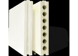 Плита гипсовая пазогребневая полнотелая пгп 667х500х80 цена за м2