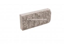Цокольная плитка скала рваный камень шоколад Владимир