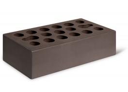 Кирпич одинарный шоколад гладкий лицевой М 150 КЕРМА
