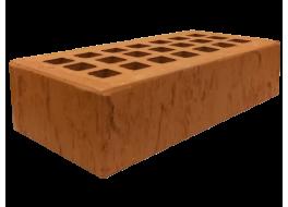 Кирпич одинарный облицовочный красный скала М 200 ЖКЗ