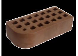 Кирпич одинарный облицовочный темно-коричневый гладкий фасонный кф-2 М 200 ЖКЗ