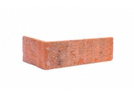 Угловая клинкерная облицовочная плитка King Klinker old castle brick street (hf05) под старину nf10, 240*71*115*10 мм