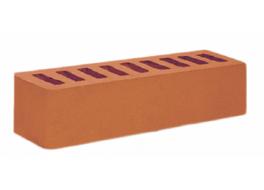 Кирпич облицовочный евро красный гладкий М 200 Осмибт