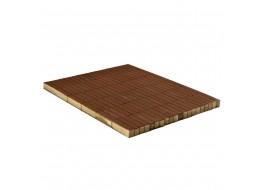 Тротуарная плитка Прямоугольник, Коричневый, 200х50, h=60 мм