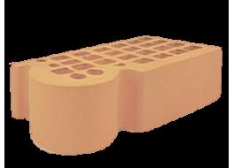 Кирпич полуторный облицовочный солома гладкий фасонный кф-3 М 200 ЖКЗ