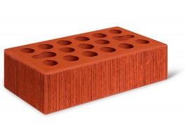 Кирпич одинарный красный бархат лицевой М 150 КЕРМА