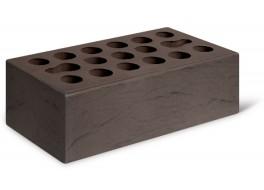 Кирпич полуторный шоколад рустик лицевой М 150 КЕРМА