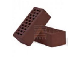 Кирпич облицовочный полуторный какао гладкий М 150 TEREX
