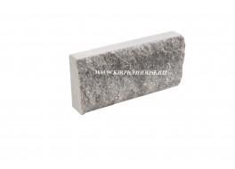 Цокольная плитка скала рваный камень черная Владимир